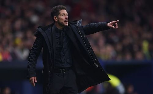 Athletico Madrid head coach Diego Simeone