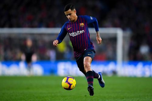 Coutinho took Barcelona's famous #7 jersey this season