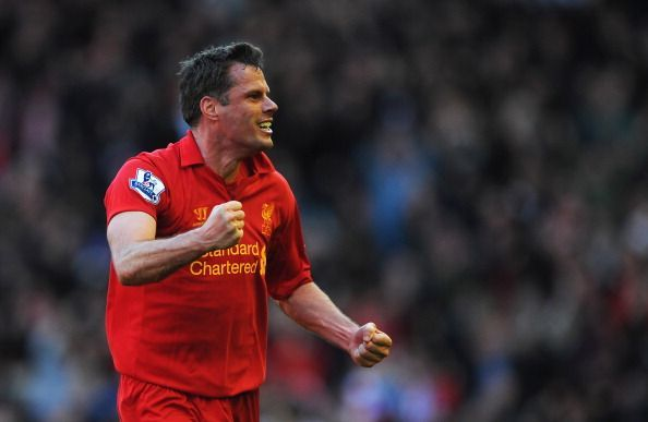 Carragher was a man who left it all on the pitch