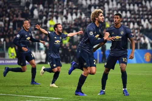 Manchester United pulled off a comeback victory against Juventus