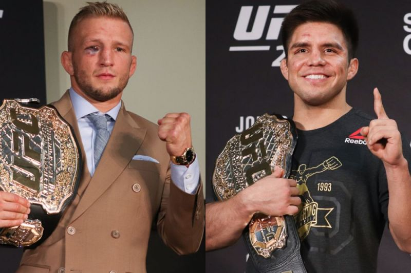 Reports: Henry Cejudo to face T J  Dillashaw at UFC 233