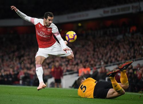 Mkhitaryan's late goal for Arsenal rescued a point against Wolves