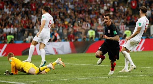 Mandzukic broke English hearts at Russia