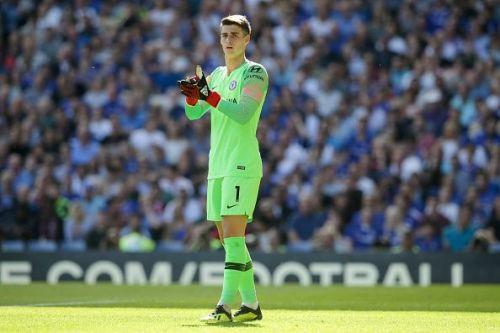 Kepa has settled in quite well at Chelsea