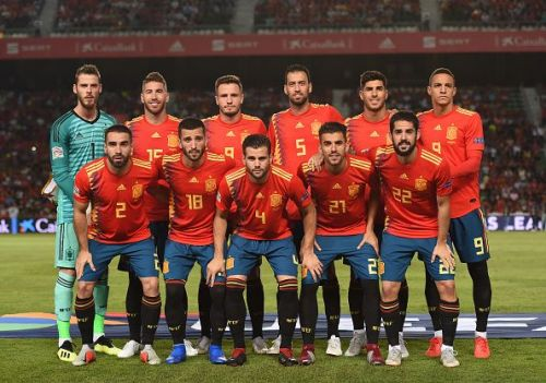 Spain struggled in the World Cup in Russia
