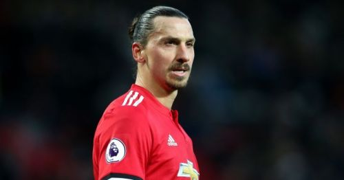 Zlatan showed his class at United