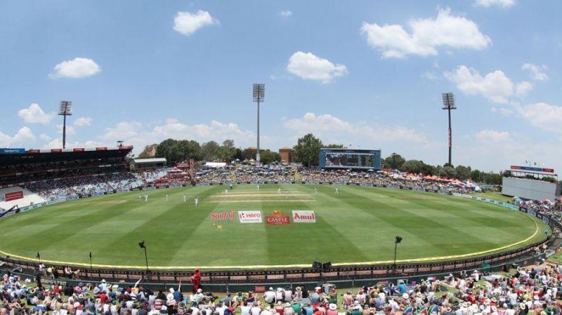 Supersport Park, Centurion is South Africa