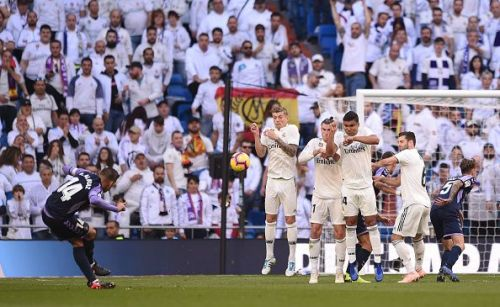 Real Valladolid showed a lot of grit and kept the European champs at bay for 80 minutes before an own goal broke the deadlock.