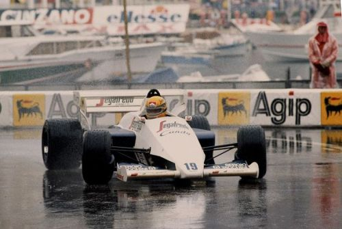 Ayrton Senna made sure we all knew what a talent he was in his rookie season