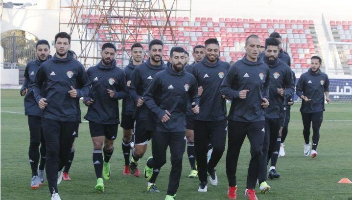 Jordan players during training (Image Credits - JFA)