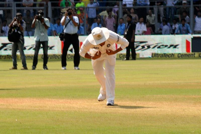 Tendulkar during his last Test match in Mumbai