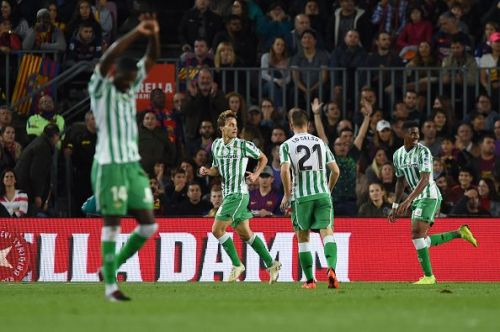 Real Betis outplayed Barcelona for most of the match