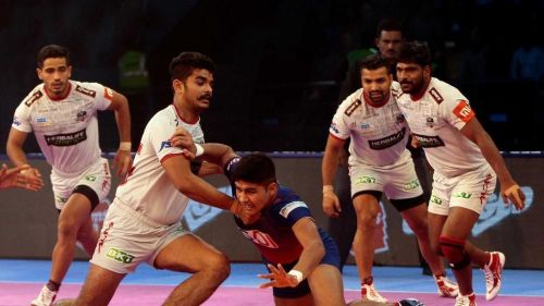 Naveen Kumar was in good touch for Delhi