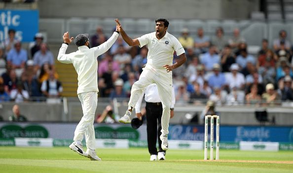 Ashwin is the second quickest to take 100 test wickets in 16 tests