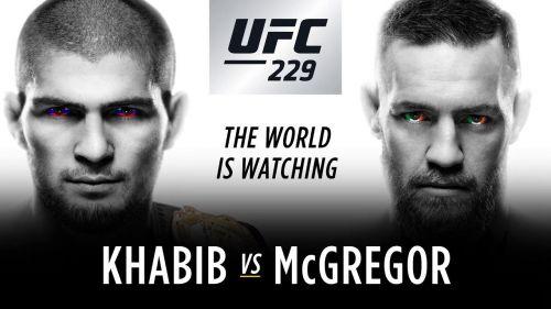 Khabib Nurmagomedov defended the Lightweight Championship versus Conor McGregor