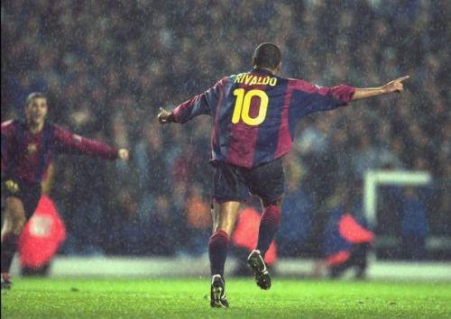 Rivaldo's spell at Barcelona made him a world-class striker