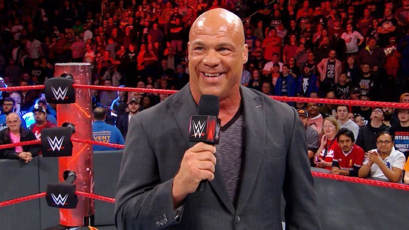 Will Kurt Angle pay a surprise visit this week on Raw?