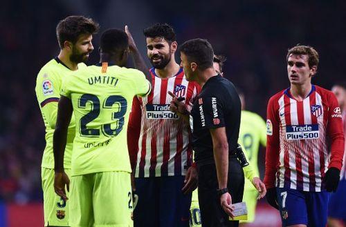 Barca's defense lacked the consistency