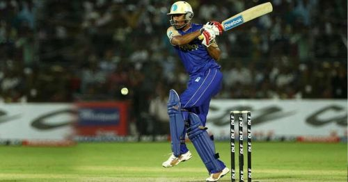 Yusuf Pathan scored a match-winning half century for RR