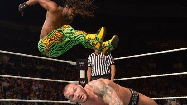 Kofi lost the accent feuding with Randy Orton.