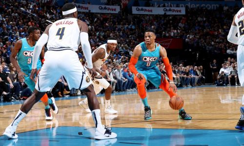 Westbrook's triple-double could not save the Thunder from losing to a really good Denver team.