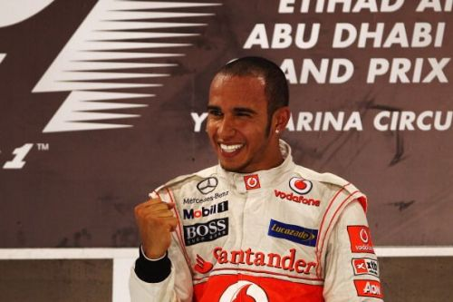 Lewis Hamilton had a poor season in 2011 (by his standards) but a win in Abu Dhabi was a highlight