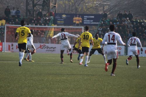 Real Kashmir FC were beaten because of their own mistakes