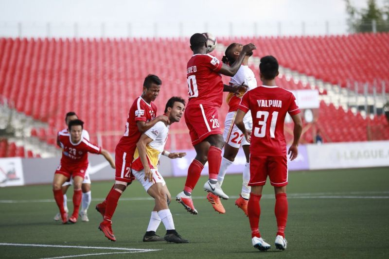 With this win, Aizawl FC climb to eighth in the table