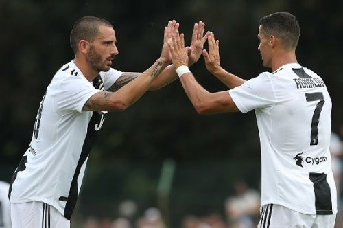 Juventus teammate Ronaldo is a clear favourite for Bonucci to take home the award