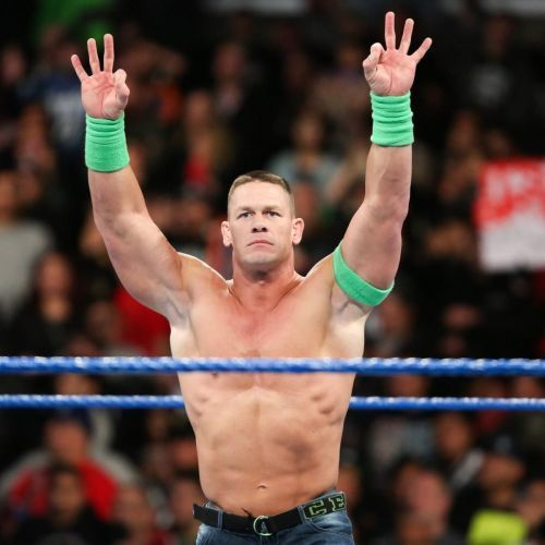 'Mr. Hustle, Loyalty and Respect' has won the WWE Championship 16 times in his career