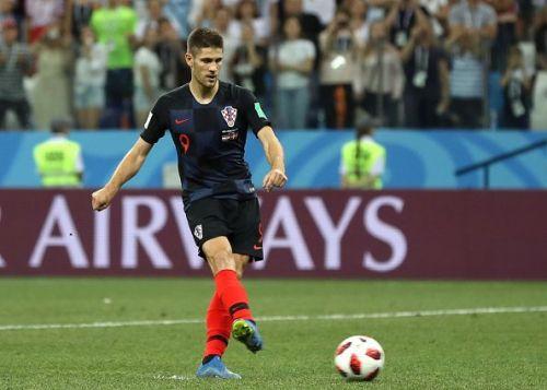 Andrej Kramaric of Croatia