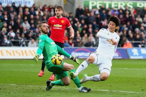 De Gea has time and again saved United from defeat or conceding.