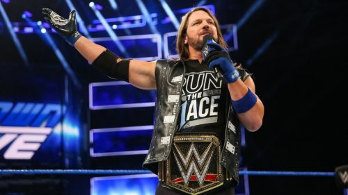 AJ Styles has held the WWE title for over a year, could he lose it before Survivor Series?