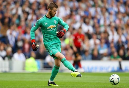 David de Gea seems to be unsure about his future with United
