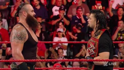 Braun Strowman now shares the historic record with Roman Reigns and Aja Kong.