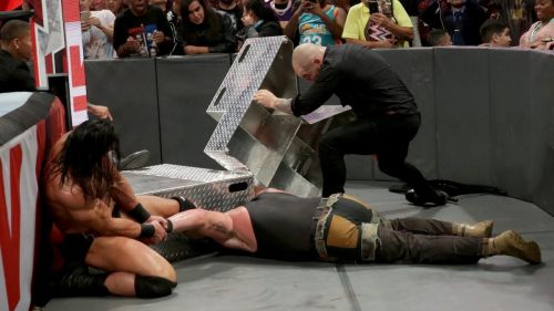 Why was Strowman 'injured' this week, ahead of WWE TLC?