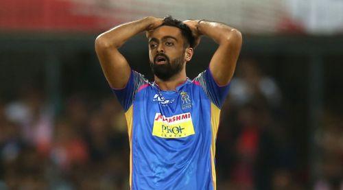 Jaydev Unadkat failed to get going in IPL 2018