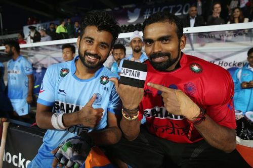 Manpreet Singh and PR Sreejesh: the key to India's success in the 2018 World Cup