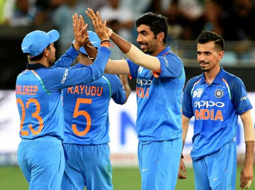 Indian bowlers helped India secure a convincing win