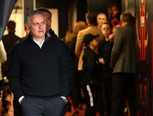 Mourinho fielded a lopsided lineup featuring no striker to act as a focal point in attack.