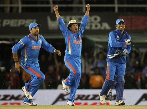 Yuvraj Singh and Sachin Tendulkar have also contributed with the ball