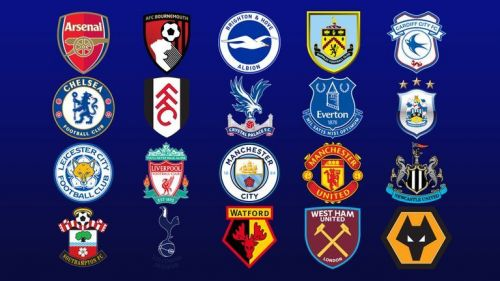 English Premier league clubs logo