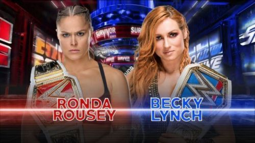 Ronda Rousey was attacked by Becky Lynch last night on Raw