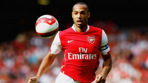 Thierry Henry won two EPL titles with Arsenal