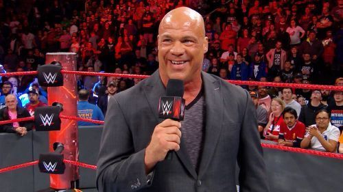 Kurt Angle could be the leader-cum-manager of the stable