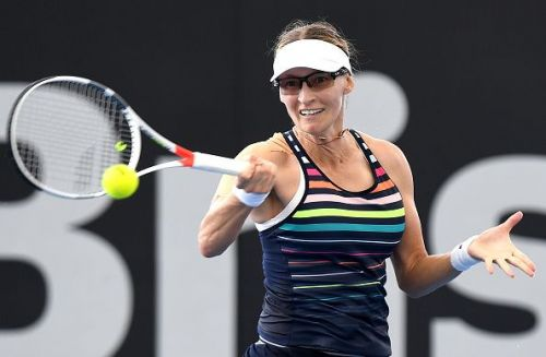 Lucic Baroni at the 2017 Brisbane International