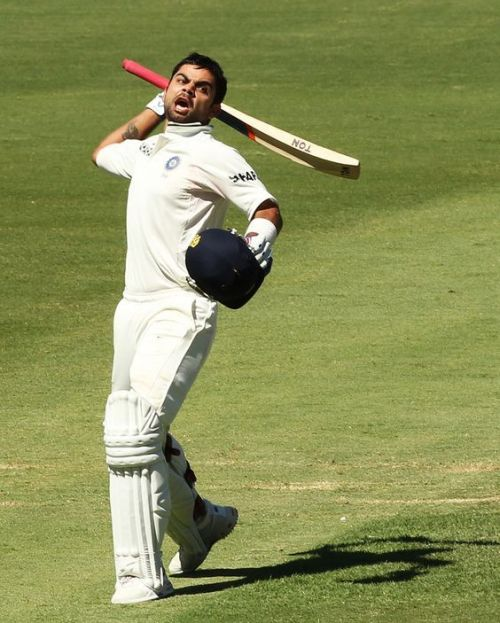 The first Test century: Adelaide, 2012
