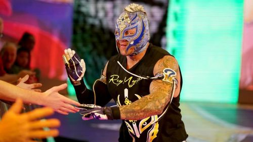 Mysterio has been booked very strongly