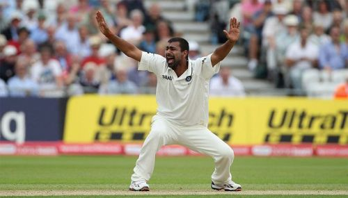 Praveen took two four-wicket hauls in the 2008 CB series finals