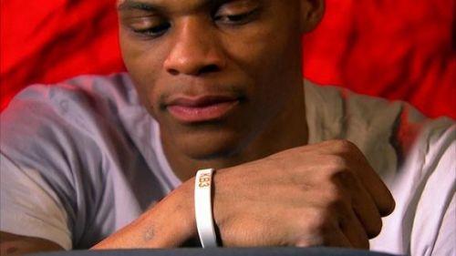 Westbrook with his KB3 braclet